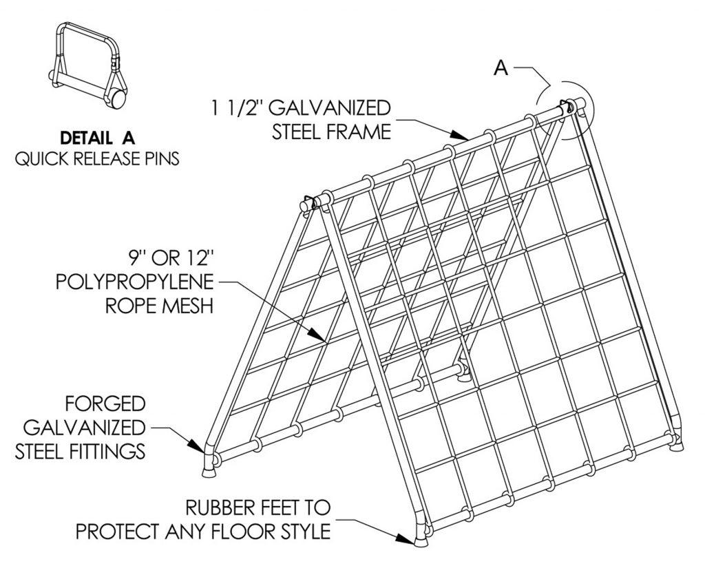 Scaler Climber Net & Frame