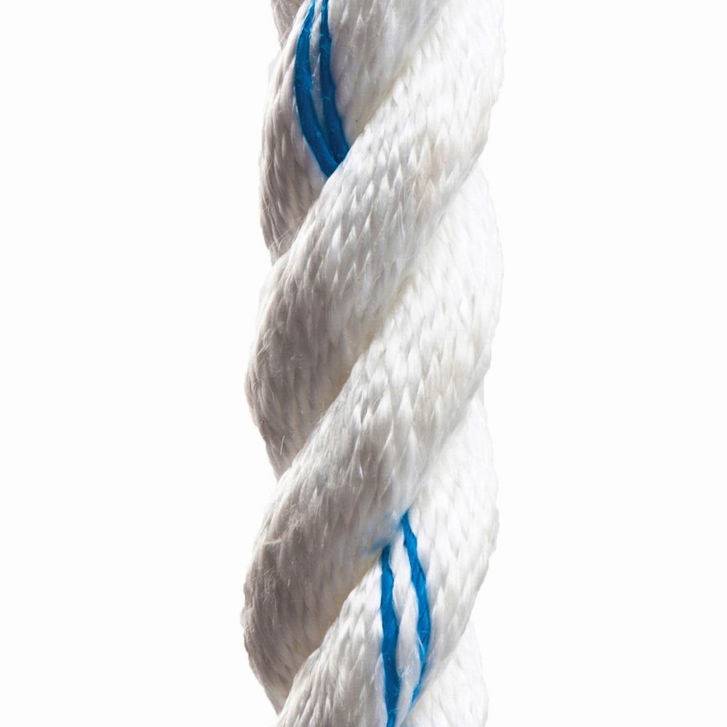 White Poly Dacron Rope