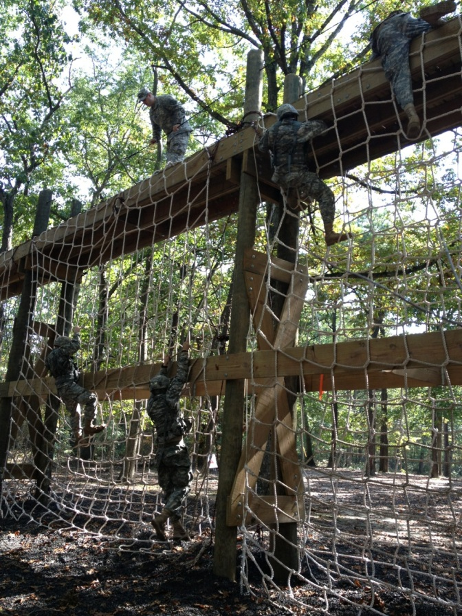 Military Obstacle Course Training Ropes Amp Nets Jammar Nets